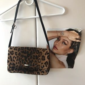 Nine West calf hair purse